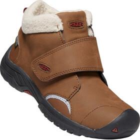 Keen Kootenay III Mid WP Shoes Kids bison/fired brick